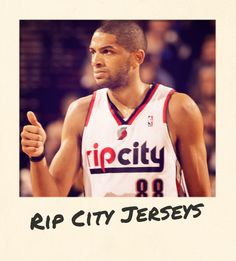 Rip City jerseys are on tap for the Trail Blazers tonight Hey Good Lookin, Portland Trailblazers, Trail Blazers, Rugby, Oregon, Nba, Eye Candy, Tank Man, Basketball
