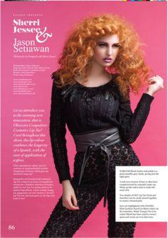 As seen in FACEON magazine. hair & makeup: Sherri Jessee photo: Jason Setiawan