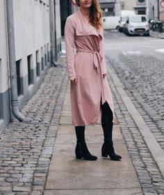 That perfect pink trenchcoat and why you need it in your closet.