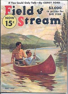 7 1937 Field and Stream Magazine | eBay