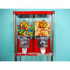 #Bubble #Gum Machine - Christmas #vintage