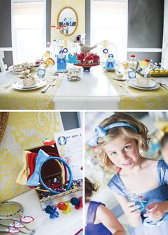A Whimsical, Snow White Inspired Birthday Party