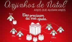 Rímel, batom e avental: Anjinhos de Natal