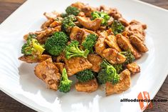 Teriyaki Chicken with Broccoli – It's a healthy complete meal which is super easy to prepare, takes less time yet satisfies your appetite.    RECIPE : http://www.allfoodsrecipes.com/recipe/teriyaki-chicken-broccoli/