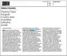 Recensione di Massimo Raffaeli, «il manifesto - Alias», 19.04.2015