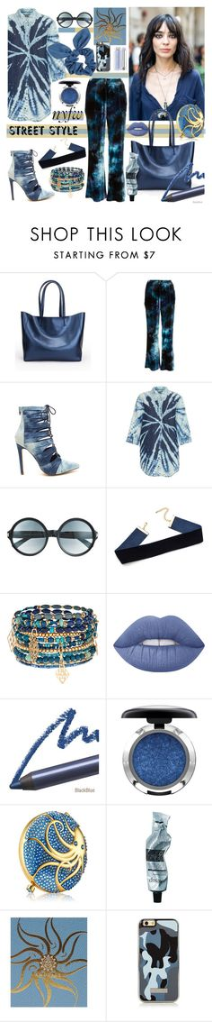 """""""NYFW Street Style: Day Two"""" by nicolevalents ❤ liked on Polyvore featuring Raquel Allegra, Tom Ford, Accessorize, Lime Crime, MAC Cosmetics, Estée Lauder, Aesop, AMOUAGE, Dorothy Perkins and StreetStyle"""