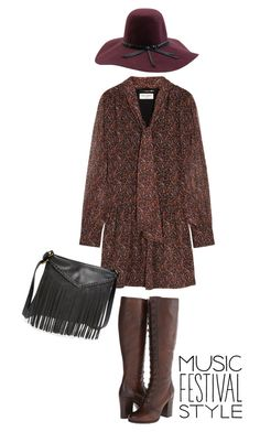 """""""Sem título #390"""" by beatrizrs19 ❤ liked on Polyvore featuring moda, Yves Saint Laurent, Brixton, Frye, BP., contestentry e musicfestivalstyle"""