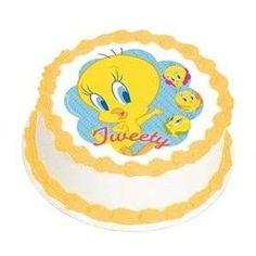 tweety bird birthday cake - Polyvore