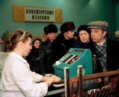 Magnum Photos — Martin Parr — Moscow. 1992.