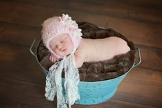 Boho Chic Baby in Pink/Almond Butter $29