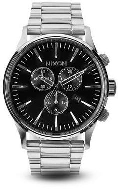 c5c6372e6c00 Nixon The Sentry Chrono Watch