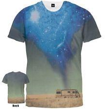 430a72dd6ad3 Breaking Bad Rv Azul Nube Desierto Sublimación licencia Camiseta Adulto  Walking Bad