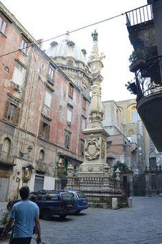 The Naples Duomo, Italy