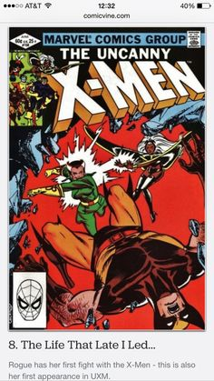 ✅ Uncanny X-Men #158 (Rogue's first appearance in X-men)