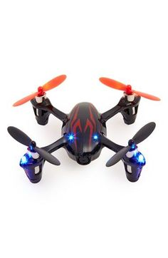 Hubsan 'X4' Flying Quadcopter with Video Camera and Six Axis Control System