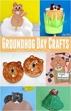 Need some Groundhog Day crafts? Check out this great list!
