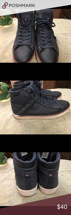 Men's Tommy Hilfiger Shoes Gently used TH Men's Shoes Tommy Hilfiger Shoes Sneakers