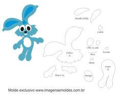 Baby Crafts, Felt Crafts, Crafts For Kids, Bear Felt, Sewing Toys, Felt Diy, Doll Patterns, Kids And Parenting, Smurfs