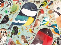 Matt Sewell's original, quirky and utterly charming interpretation of British Birds makes us look afresh at our feathered friends. His deceptively simple, yet accurate, watercolour paintings capture the essence of each bird, portraying not only their plumage but also their personalities. There are over 20 wonderful birds here for you to discover and enjoy; how many can you spot in your garden or area? Includes in-box A4 colour leaflet showing puzzle image for reference, information about the…