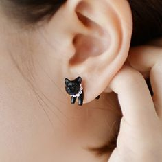 Cat Earrings – Bee and Buzz