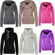 Fashion Women Winter Hooded Slim Coat Jacket Casual Warm Sportwear Outwear Hot
