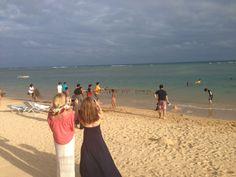 This was an actual Hukilau at the Kahala Hotel and Resort