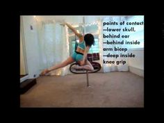 Pole Theory Video Tutorial Series--The Icarus Spin