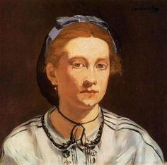 Edouard Manet   Victorine Meurent, 1862,