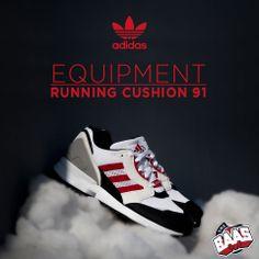 Adidas Equipment Running Cushion 91  Code: D67568  www.sneakerbaas.nl