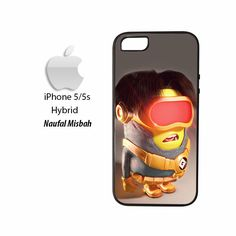 Cyclops Despicable Me Minion iPhone 5/5s HYBRID Case Cover