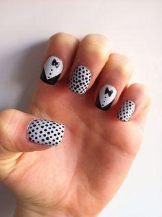 Smoking nail art