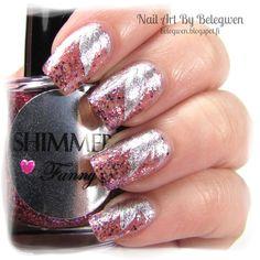 Nail Art by Belegwen: Shimmer Polish: Fanny