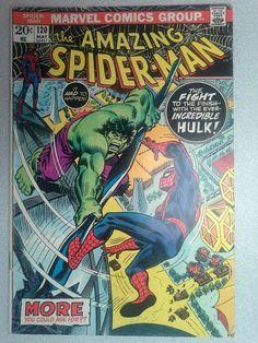 Amazing Spider-Man #120, Hulk vs Spider-Man, Classic, Free Shipping, Bronze Age