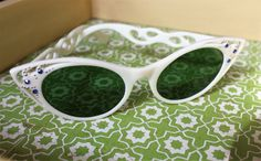 A personal favorite from my Etsy shop https://www.etsy.com/listing/507534265/vintage-italian-cat-eye-sunglasses-made
