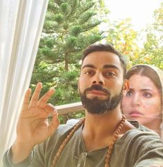 Shhhh! Koi Hai! Anushka Is Always There With Virat Kohali! (विराट की तस्वीरों में अनुष्का का भूत! देखें पिक्चर्स) #anushkasharma #viratkohali #phillauri #diljitdosanjh #ghost #promotion #twitter #fans #photoshop #idea