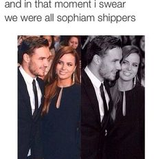 Ahaha not necessarily a sophiam shipper but I respect it and they're cute! They look really happy