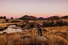 Rocky Mountain National Park, Colorado engagement session by Brett Brooner Photography.