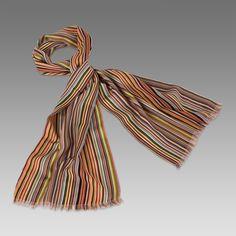 Paul Smith Scarves | Fine Wool Signature Stripe Scarf