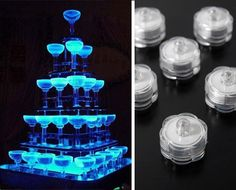 $18 for Six Submersible LED Glow Lights