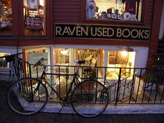 Raven Used Books. Raven Used Books specializes in carefully selected scholarly, literary, and general books. We are located in Harvard Square in Cambridge, Massachusetts