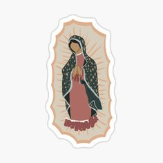 Catholic stickers featuring millions of original designs created by independent artists. Catholic Wallpaper, Jesus Wallpaper, Mexico Wallpaper, Catholic Tattoos, Virgin Mary Art, Jesus Cartoon, Bob Marley Pictures, Jesus Artwork, Mexican Art Tattoos