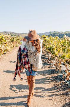 Fall plaid outfits f