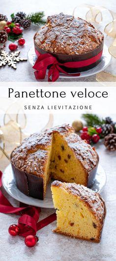 Golosa torta di #Natale semplicissima e soffice, veloce da realizzare. #ricette #menudinatale