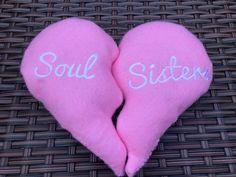 A personal favourite from my Etsy shop https://www.etsy.com/uk/listing/569693830/best-friends-soul-sisters-split-heart