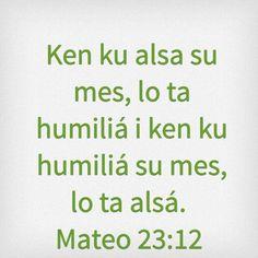Mateo 23:12