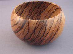 Zebrawood Bowl van ricknox op Etsy, $45.00