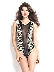 Women's Mesh Cutout Yellow Leopard Teddies.  Get superb discounts up to 70% Off at Light in the Box using Coupon and Promo Codes.