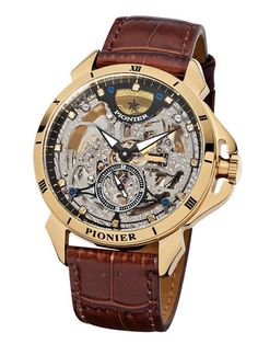 This adventurously designed Malibu Diamonds Pionier timepiece will feel like quality treasure around your wrist, equipped with stunning details and precision to provide a highly distinguished style. P