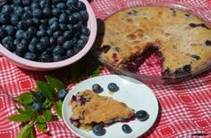 Quick, easy and bursting with blueberries!