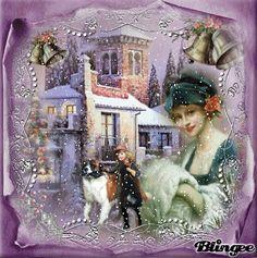 Vintage It's Snowing